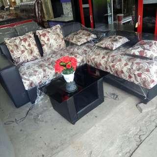 Sofa L kembang