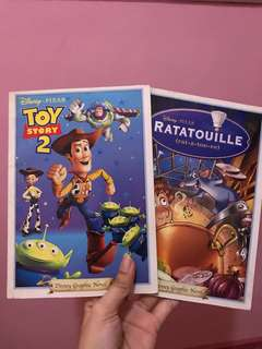 Toy Story 2 And Ratatouille