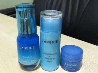 Laniege skin care (trial size)