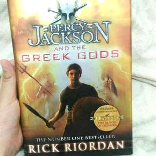 SALE! Percy Jackson and The Greek Gods by Rick Riordan
