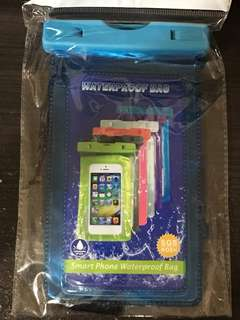 電話防水袋 淺藍 / 深藍
