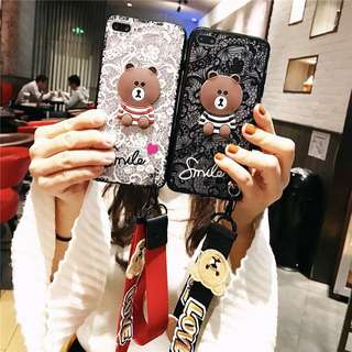 Bear bear iPhone case