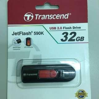 Transcend 32gb flashdrive