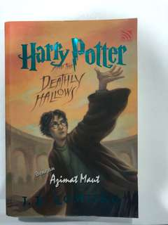 Harry Potter And the Deathly Hallows( Malay edition)