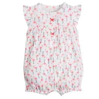 2018夏季嬰兒純棉短袖包屁連身衣