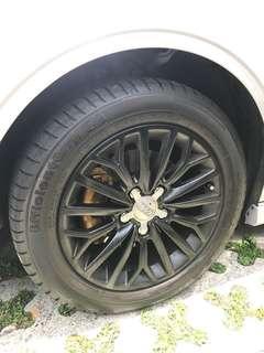 Audi A3 original 16 sport rims