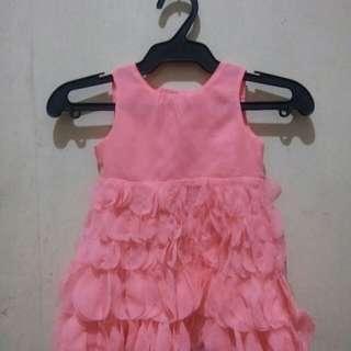 Baby petal dress