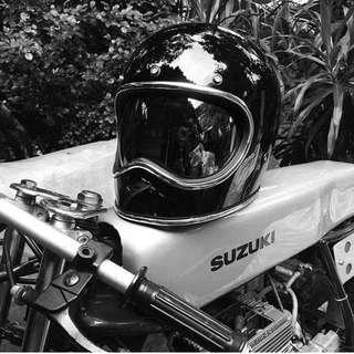 Space vintage helmet gloss