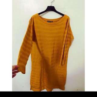 超舒服單品 Uniqlo針織洋裝 質感真的超好的 非常漂亮 穿起來很有氣質喔!