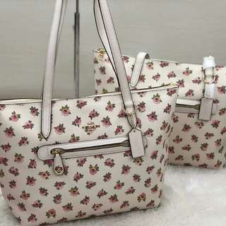 Coach Taylor Tote Floral