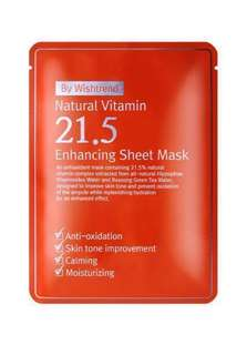 [Promo Price] - Wishtrend Natural Vitamin 21.5 Enhancing Sheet Mask