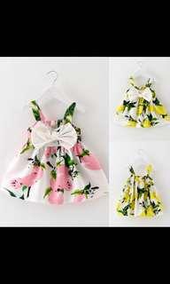 Toddler infant kids baby girl summer dress princess party wedding tutu dress