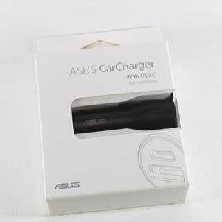 華碩 ASUS 原廠雙USB車載快速充電器 CarCharger 28W USB Type-C