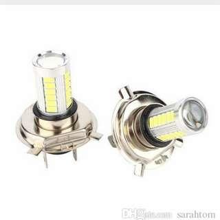 H7 DC 12V 33 LED white Bulb