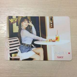 Twice - Jihyo Photocard