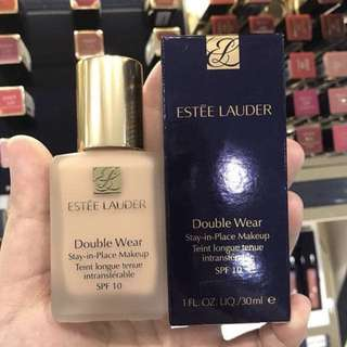Estee Lauder Double Wear Foundation 粉底