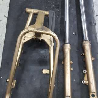 Swing arm..front fork