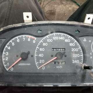 Meter EVO danGSR rpm 9