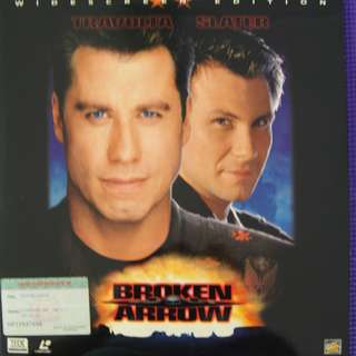 Laser Disc Movie - M19   Broken Arrow