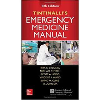 Tintinali's Emergency Medicine Manual 8th Edition
