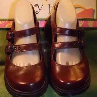 馬汀 dr.martens 瑪麗珍 瑪莉珍 娃娃鞋 皮鞋  uk6 39/40碼