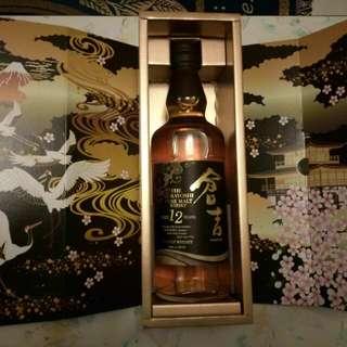 日本倉吉12年威士忌