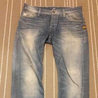 🚚 G-STAR牛仔褲