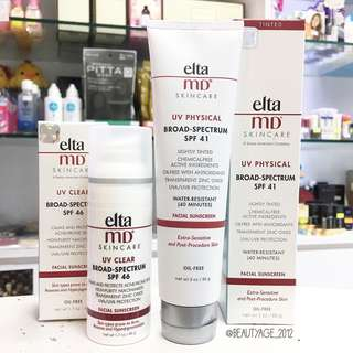 EltaMD UV Physical Facial Sunscreen SPF 41