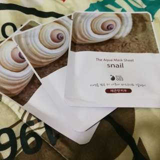 The Aqua Mask Sheet - Snail