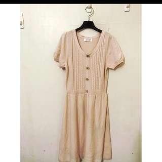 專櫃NR原價2780 針織洋裝 氣質款單品喔 顏色溫柔浪漫 SM小L