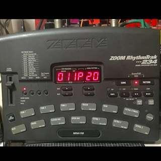 Zoom RT 234 Drum Machine