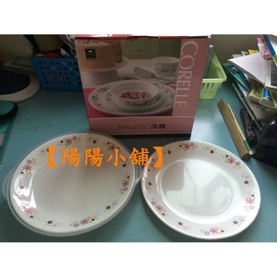 【陽陽小舖】《股東會紀念品》康寧餐盤組(2盤+1保鮮蓋)