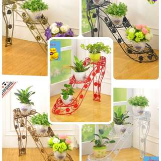 Plants pot rack/ plant stand / highheel rack/flowers pot shelve