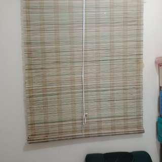 Rattan Window Curtain