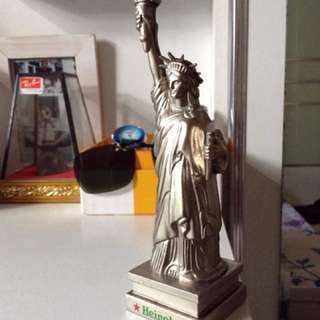 Heineken liberty statue table lighter