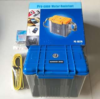 Pro-Case Water Resistant Storage Container