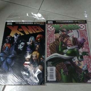 Marvel comic X-man