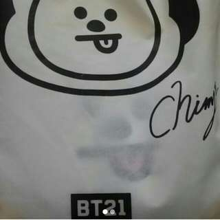 [PRICE REDUCED] BTS BT21 CHIMMY 42CM PLUSHIE
