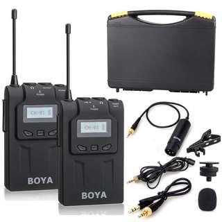 BOYA BY-WM6 Wireless clip mic