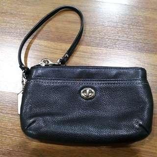 Coach Wristlet (Leather)
