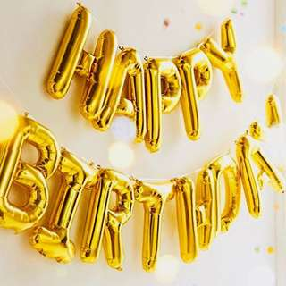 16 / 40 inches Numbers Foil Balloons / Letters Balloons