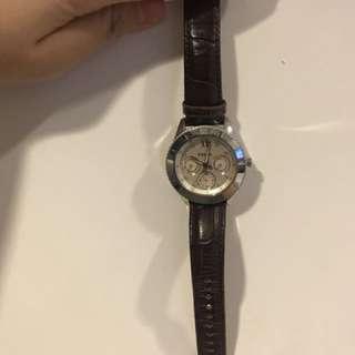 Fossil皮手錶