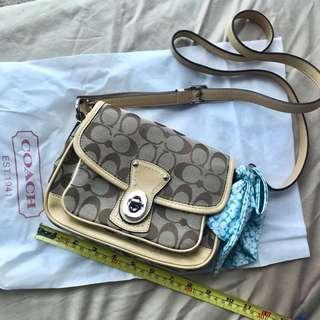 Coach bag 手袋 長帶斜孭 側孭袋