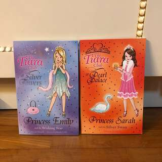 The Tiara Club Books