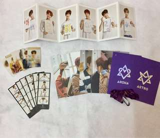 Astro Aroha 2nd Official Fanclub goods