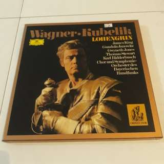 5-LP Boxset Richard Wagner Lohengrin Classical Music