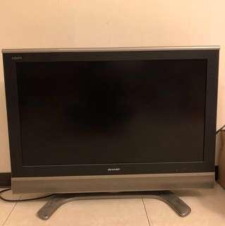 二手 日本原裝SHARP 37吋液晶電視