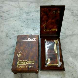 "Maxim Pipe ""8"" Lighter Vintage"