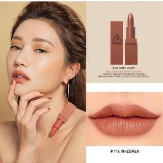 3ce lipstik/ lipstik matte