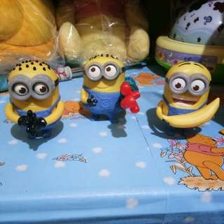 Minions mcdonalds happymeal (preloved)